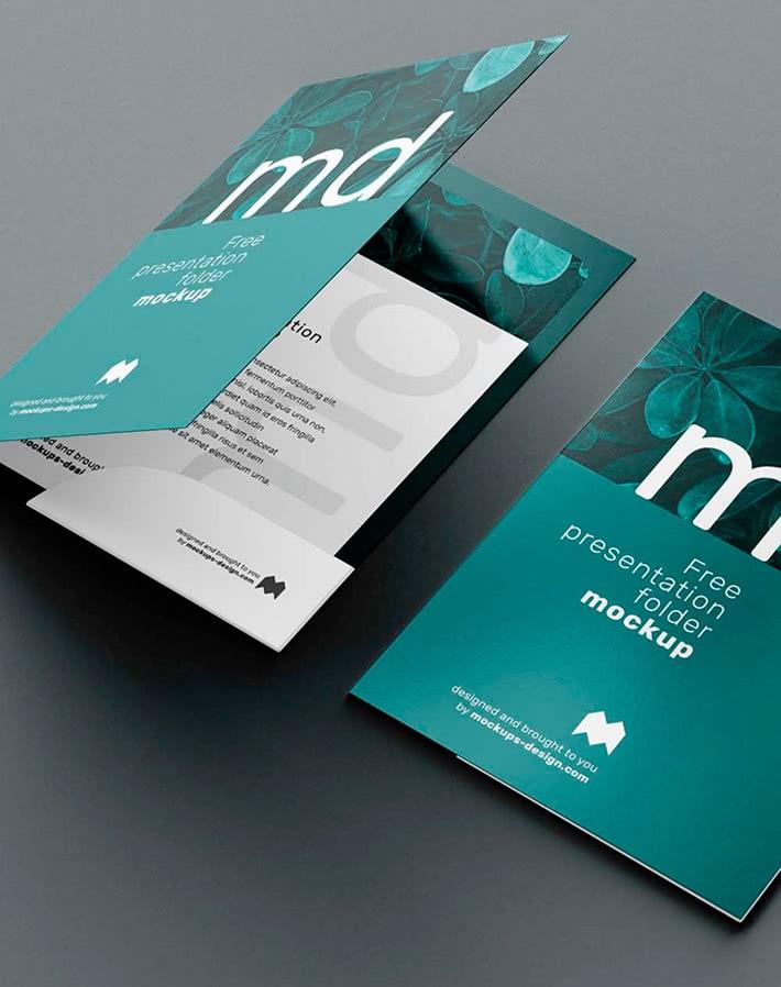 дизайн и печат на папки за документи