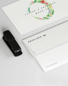 дизайн и печат на пликове за писма пощенски пликове