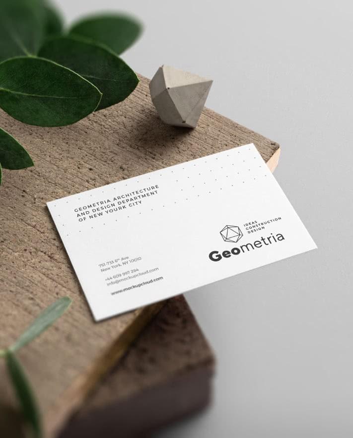 печат на черно-бяла визитка