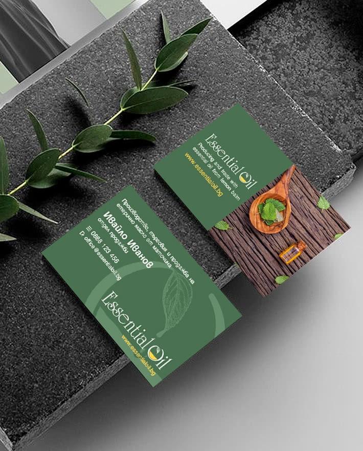 изработка на визитки
