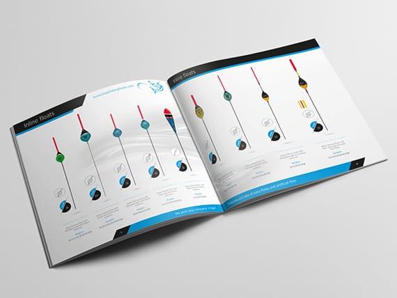 дизайн и печат на продуктов каталог