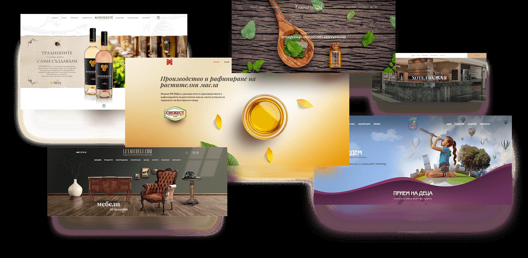 изработка на креативни банери за фирмени уеб сайтове