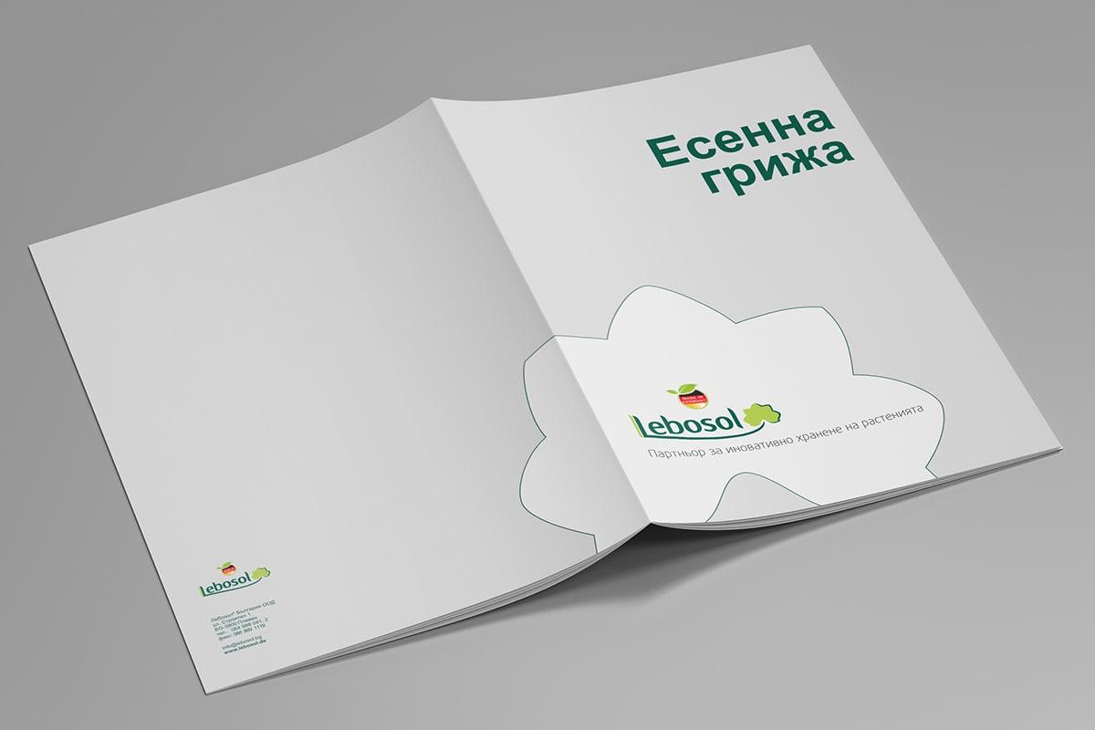 дизайн и печат на фирмен каталог